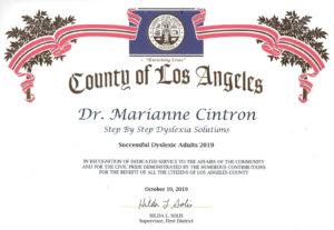 dyslexic adults certification