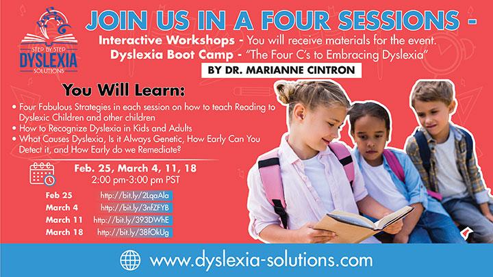 Dyslexia Boot Camp